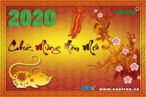 Thiệp chúc mừng Xuân Canh Tý 2020 – SUNTREE VIỆT NAM