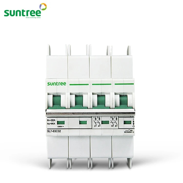 Aptomat DC Suntree 4P 1000VDC (2)